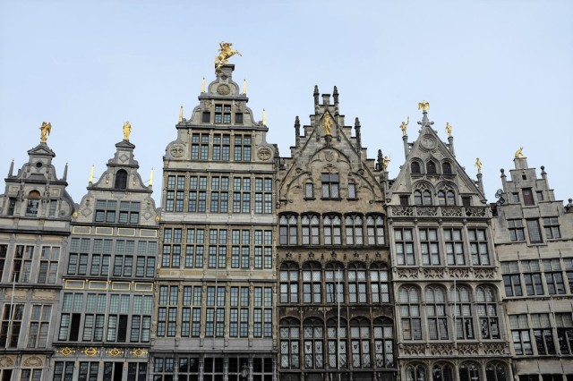 Anvers-Grand-Place-Grote Markt-fontaine-Brabo-centre historique-Historisch Centrum