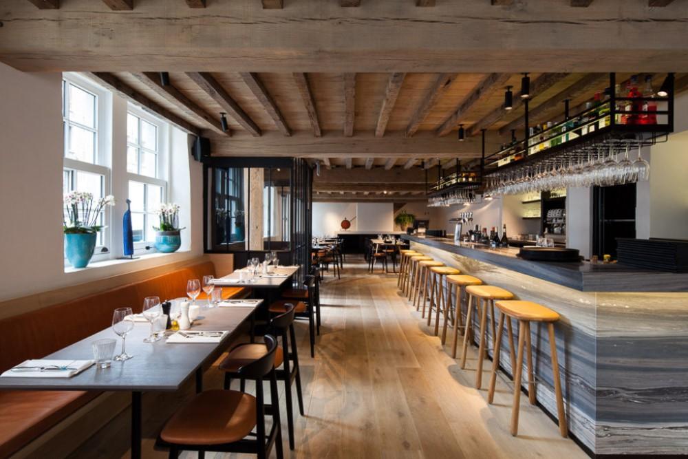 Antwerpen Anvers Mon restaurant MAS Eilandje cuisine