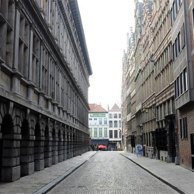 Anvers-centre historique-Historisch Centrum-ruelle