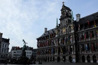 Anvers-hôtel de ville-stadhuis-Grand-Place-Grote Markt