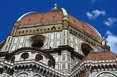 Florence-duomo-cathédrale-coupole-dôme-Brunelleschi