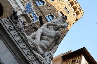 Florence-piazza della Signoria-place-duomo-statues