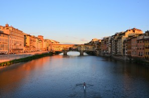 Florence-ponte Vecchio-pont-duomo-Arno-Oltrarno