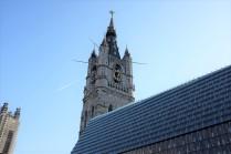 La tour du beffroi de Gand