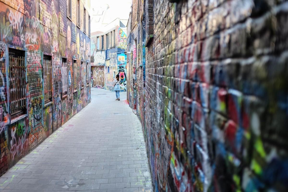 Gand graffiti street