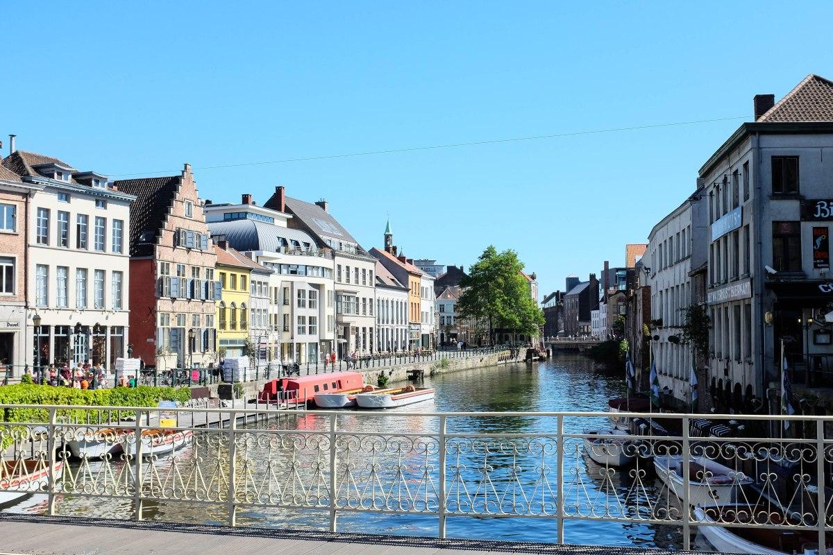 Gent city center