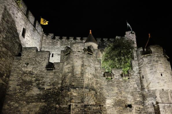 Le Château des Comtes à Gand