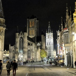 Les monuments du centre historique de Gand