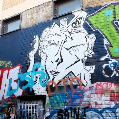 """Les graffiti de Gand sont visibles grâce la promenade """"Sorry not Sorry"""""""