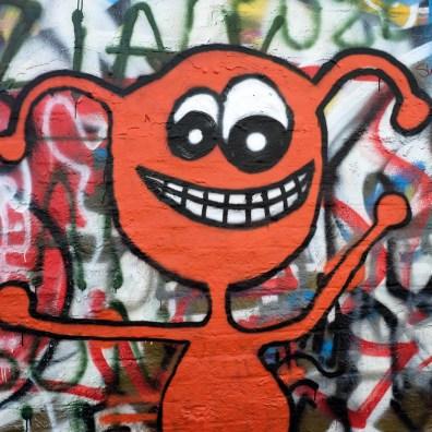Des graffitis dans la ville de Gand