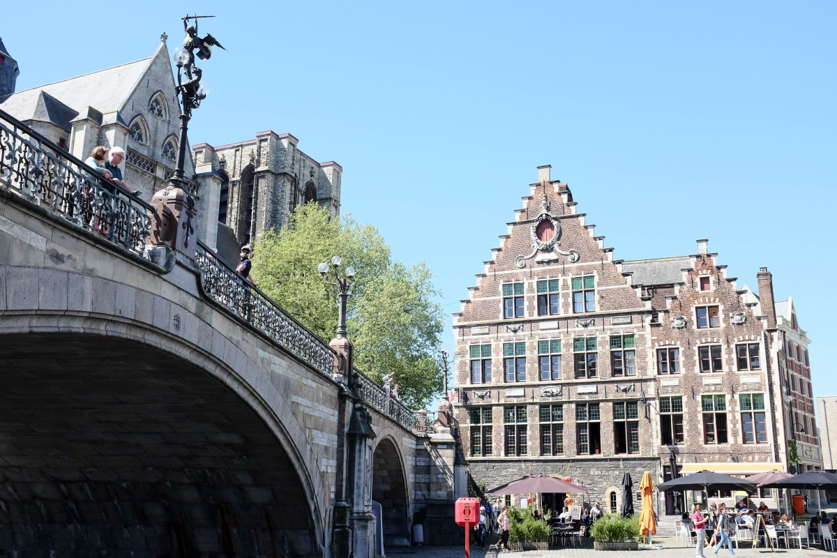 Ghent St Michel bridge