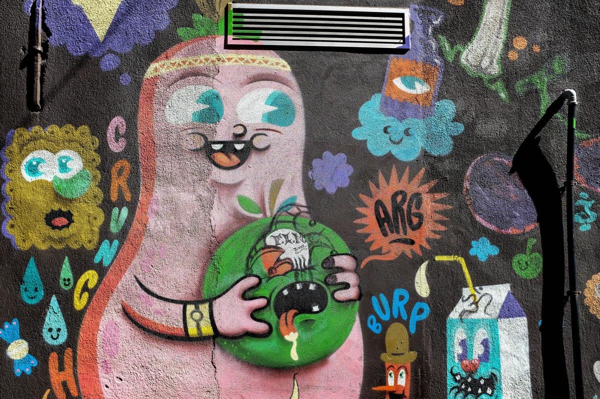 Ghent street art