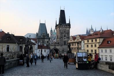 Le somptueux décor du Pont Charles de Prague