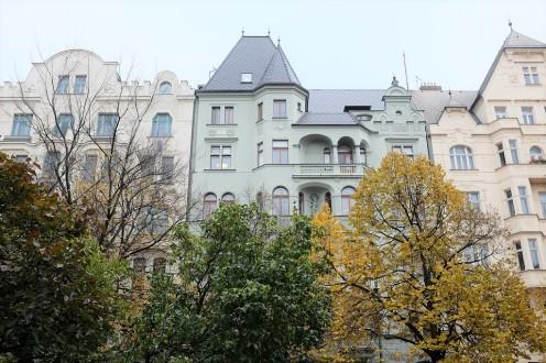 Les beaux immeubles du quartier juif Josefov