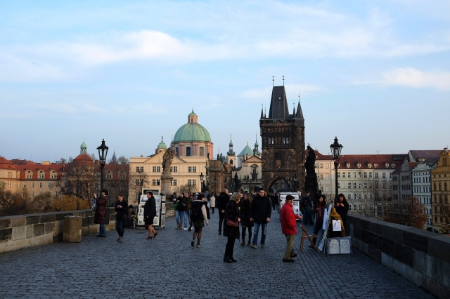 Prague-pont Charles-Vltava-Staré Město-Malá Strana