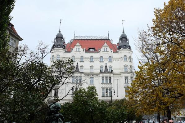 Un immeuble du quartier juif de Prague, Josefov