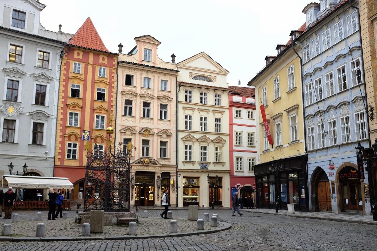Staré Město la vieille-ville de Prague