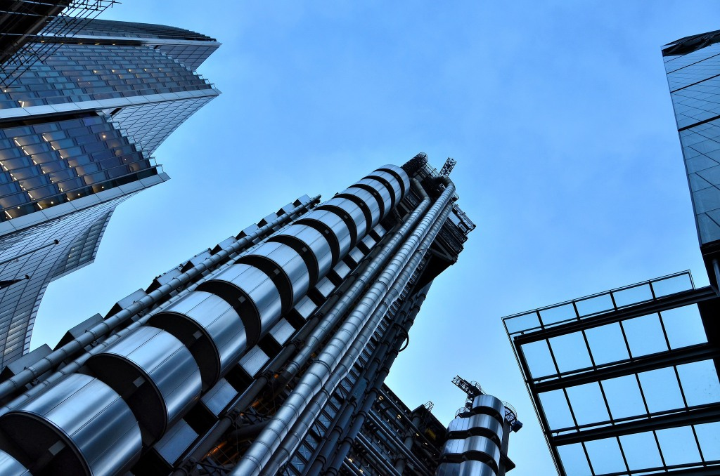 Londres-Lloyd's-Buiding-La City