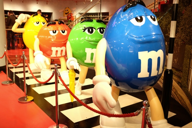 Londres-M&M's-world-bonbon