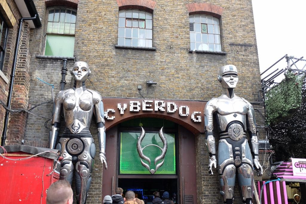 Londres-Camden-Cyberdog