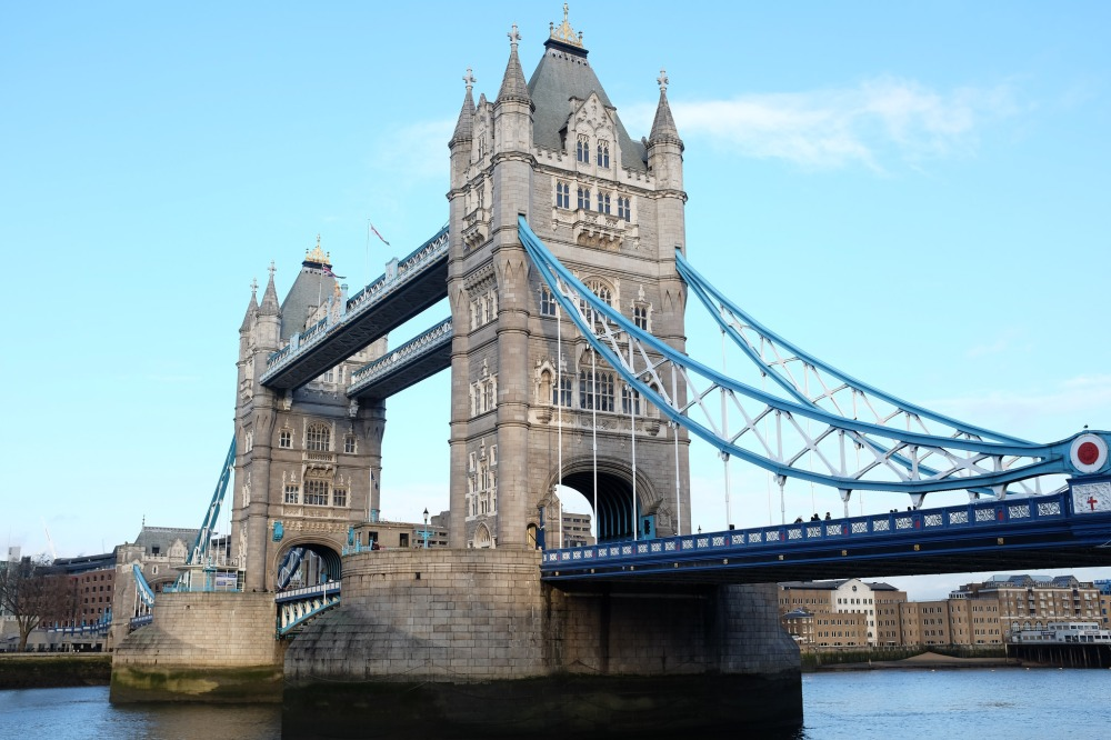 Londres-Tower-bridge-pont-Tamise