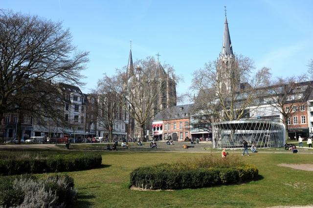 Aix-la-Chapelle-parc-cathédrale-Elisenbrunnen-fontaine-Elise