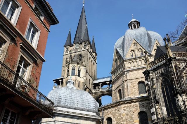 La cathédrale d'Aix-la-Chapelle en Allemagne