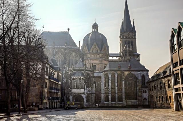 Aachen Aix-la-chapelle Allemagne cathédrale vieille ville