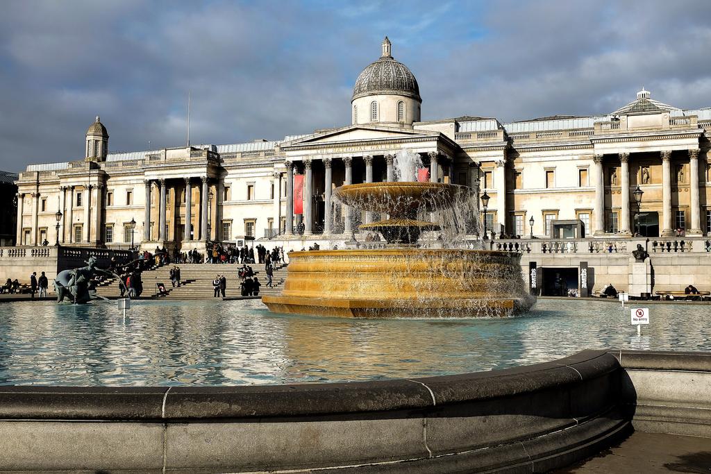 Londres-Trafalgar-Square-Westminster