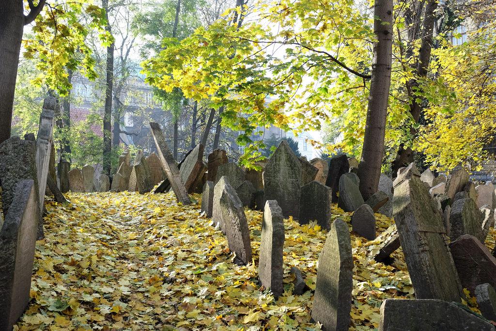 Prague, vieux cimetière juif, Josefov, Starý židovský hřbitov