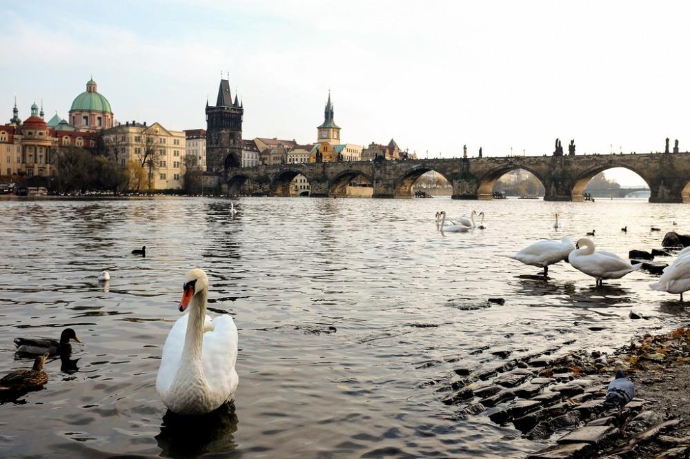 Prague, pont Charles, Karlův most, Vltava, Malá Strana, Staré Město