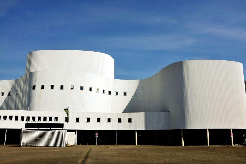Düsseldorf Schauspielhaus Hofgarten théâtre building opéra
