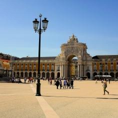 Lisbonne-Baixa-Praça do Comércio-Place du Commerce