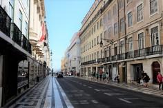 Lisbonne-Baixa-ville basse