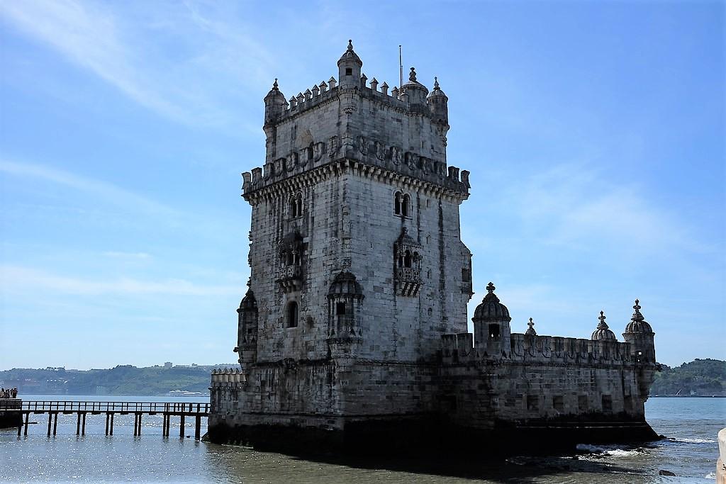 Lisbonne-Tour de Belém-Tage