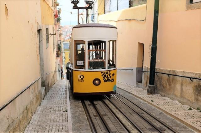 Lisbonne-funiculaire-elevador-da bica