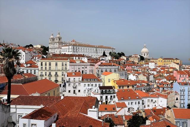 Lisbonne-Alfama-Miradouro-Portas do Sol-Mosteiro De Sao Vicente De Fora