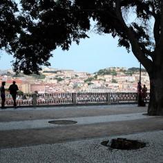 Lisbonne-Bairro Alto-Miradouro-São Pedro de Alcântara-belvédère