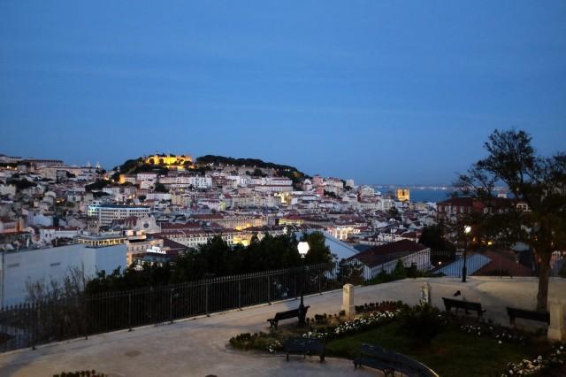 Lisbonne-Bairro Alto-Miradouro-belvédère-São Pedro de Alcântara