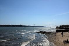 Lisbonne-Pont-pont du 25 avril-Tage-Almada