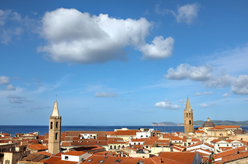 Alghero-Sardaigne-vieille ville