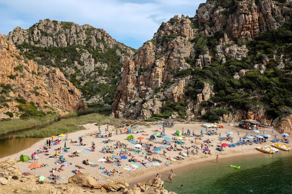 Costa Paradiso-Li Cossi-plage-Sardaigne