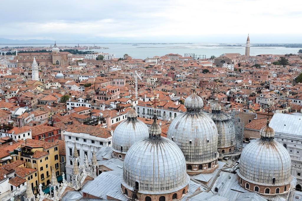 Venise-basilique Saint-Marc-piazza San Marco-campanile-Palais des Doges
