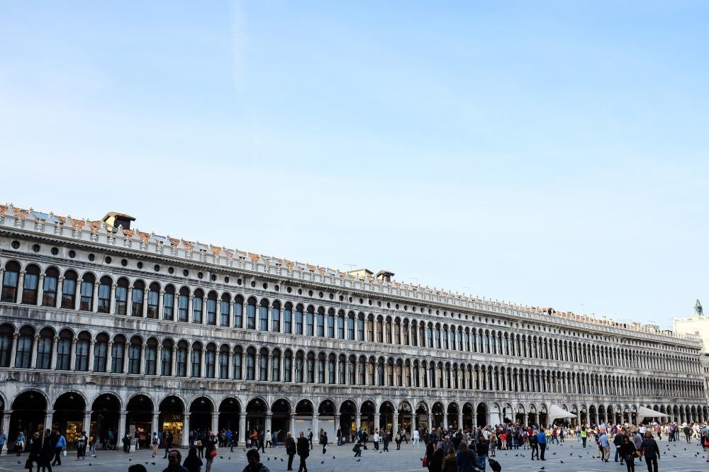Venise-place Saint-Marc-Piazza San Marco-architecture
