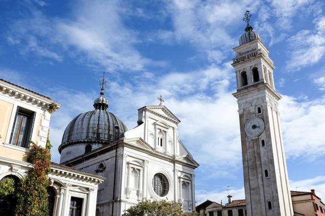 Venise église San Giorgio dei Greci ruelle architecture