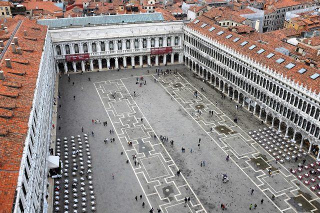 Venise-place-Saint-Marc-piazza-San Marco