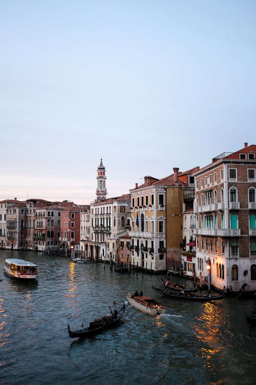 Venise-Grand Canal-Santa Croce-San Marco