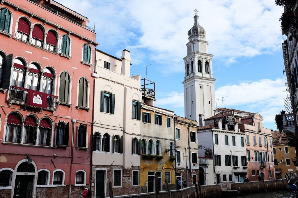 Venise-Castello-San Giorgio dei Greci-campanile