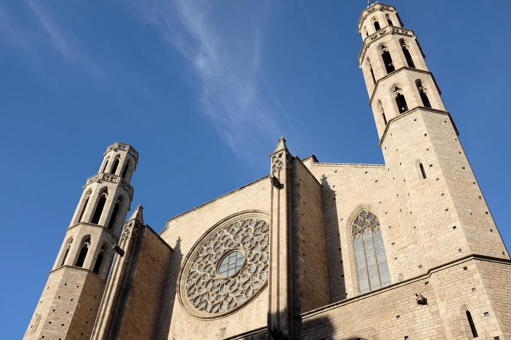 Barcelone-Santa Maria del Mar-basilique-gothique-catalan-Ribera-El Born