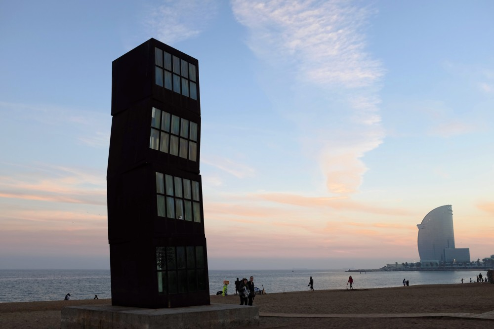 Barceloneta-plage-mer-sable